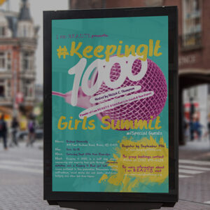 Keep it 1000 Poster